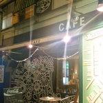 千石Cafe - 夜も綺麗です。派手なので結構目立ちます。