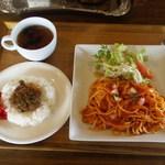 Bampusu - ランチ(ナポリタン&カレー)
