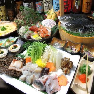 極上旬鮮魚を提供!職人の味を堪能!
