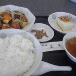 菜華 - 酢豚セット