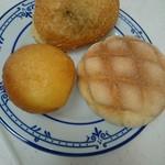 かめしま - カレーパン、メロンパン、オールスター