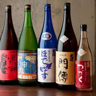 【限定】純米酒門傳、実家で作る日本酒も人気☆