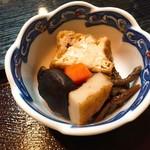 かわむら - 定食の煮物