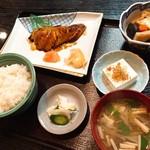かわむら - 銀だら定食(1,350円)
