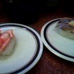三葉寿司 - 鮭白子、鯵