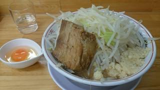 ラーメン龍郎 - 味噌と生卵