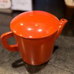 56764377 - 〆に蕎麦湯。美味しかった~!