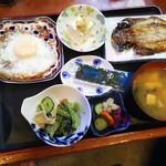 らんぷはうす - 朝定食600円