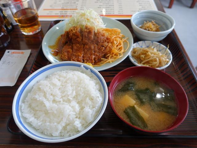 味処いちむら - 牛カツ定食1200円