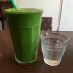 吉ゑ門 - 青菜(L)(ストローで吸えなくなったら、水で割る)