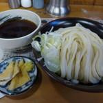 四方吉うどん - もりうどん(中・730円)