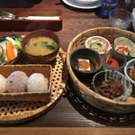 寛屋 - 料理写真:郷の楽しみ弁当  1250円外税