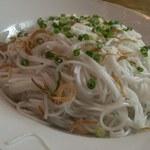 ベトナム料理 オーセンティック - ブンチャー(の具の麺)