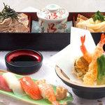 ふぁみり庵はいから亭・寿しまどか - 和食セットの中の一つ、桔梗です。