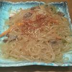 焼肉・韓国料理 韓味亭。 - チャプチェ