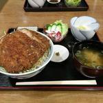 福寿美手打生そば処 - 料理写真:見事なソースかつが鎮座しています!