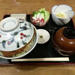 福寿美手打生そば処 - ソースかつ丼普通盛¥1,150
