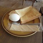 ジェイカフェ - モーニングトースト 486円(税込)