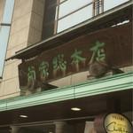 お菓子の菊家 - お店の看板
