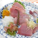 はまゆう - 料理写真:刺身定食(梅)
