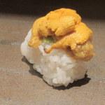 和食 浮橋 - ウニ