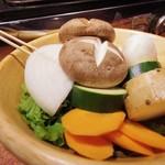 ノーミート ノーライフ - 焼き野菜盛り合わせ