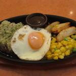 56806033 - 野菜ソースのハンバーグ
