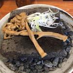 エンターテイ麺ト スタイル ジャンク ストーリー エムアイ レーベル - メンマとネギも炙ります