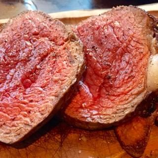◆こだわりの『塊肉』ステーキ◆