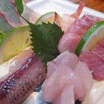若潮 - 屋久島の天然魚たち‥(たか海老・あかばら(かんぱち)・飛魚・金目鯛など)