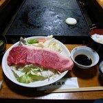 巻狩 - 料理写真:和牛サーロイン定食(150g) 2000円