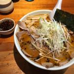 自家製麺 火の鳥73 - 辛口味噌大盛り