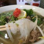 アジア屋台FO - 牛肉と野菜のフォー610円税込