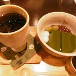 和夢茶Cafe - 珈琲と抹茶こんにゃくゼリー