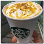 スターバックス・コーヒー - 2016年9月28日  ゴールデンメイプルラテ S420円。