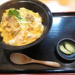 56814159 - 比内地鶏親子丼1,058円(税込)