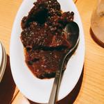56815094 - ペボーゾ(牛脛肉の赤ワイン煮込み)