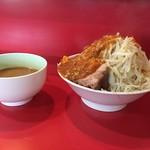 56816492 - 160929つけ麺フュージョン野菜多めニンニク多め