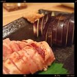 ソラナカ - 炙り明太 × 水なす刺