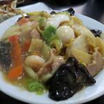 中華料理 龍馬 - かた焼きそば