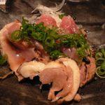 ふうり - (2010.2)地鶏のたたき