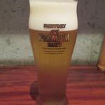 どろまみれ - まずは生ビールから!