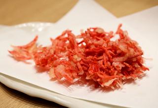 天ぷらと日本酒 明日源 - 紅しょうが