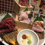 横浜 肉寿司 - 盛り合わせ♡