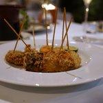 カーザ ヴィニタリア - ポルチーニと真蛸のパン粉揚げ
