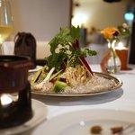 カーザ ヴィニタリア - 季節の野菜のバーニャガウダ(アンチョビソース)