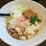 RAMEN MOSH - 料理写真:・「温玉しびまぜそば(¥850)」