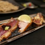 鴨蕎麦 尖 - 鴨肉のロースト