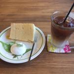 カフェ ルーマ - シフォンとカフェオレ