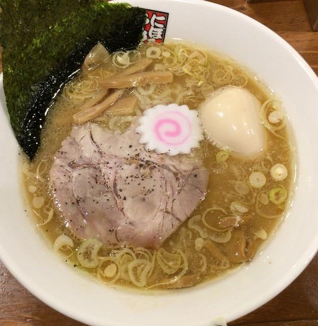 玉五郎 神戸元町店 - 味玉煮干しらーめん♪